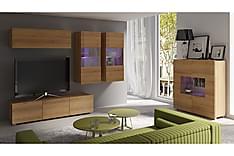 Calabrini Tv-möbelset & vitrinskåp