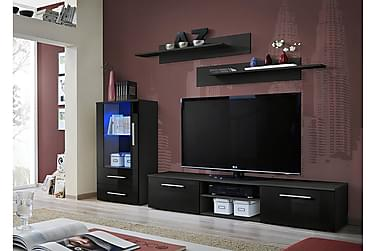 Galino TV-möbelset 250x40x180 cm