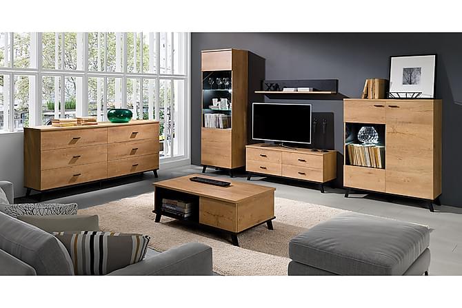 John Vardagsrumsset - Beige|Grå - Möbler - TV- & Mediamöbler - TV-möbelset