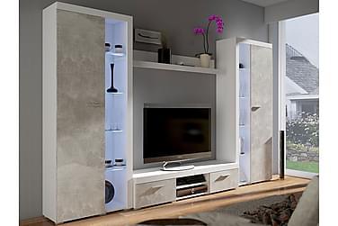 Rumba TV-möbelset 300x34x190 cm
