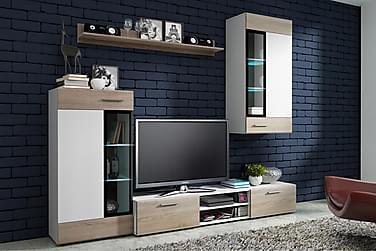 Tango TV-möbelset 236x40x143 cm