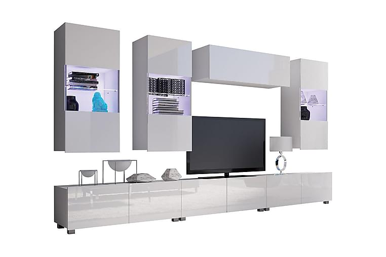 Tessan TV-möbelset - Vit - Möbler - TV- & Mediamöbler - TV-möbelset
