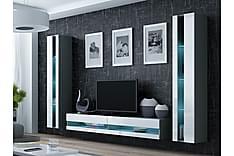 Vigo TV-möbelset 260x40x180 cm