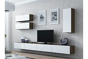 Vigo TV-möbelset 280x40x180 cm