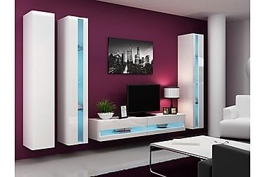 Vigo TV-möbelset 300x40x180 cm