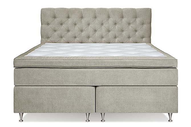 Joluma Kontinentalsäng 160x200 Medium - Beige - Möbler - Sängar - Dubbelsängar