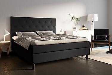 Eksjö Komplett Sängpaket 180x200 Svart