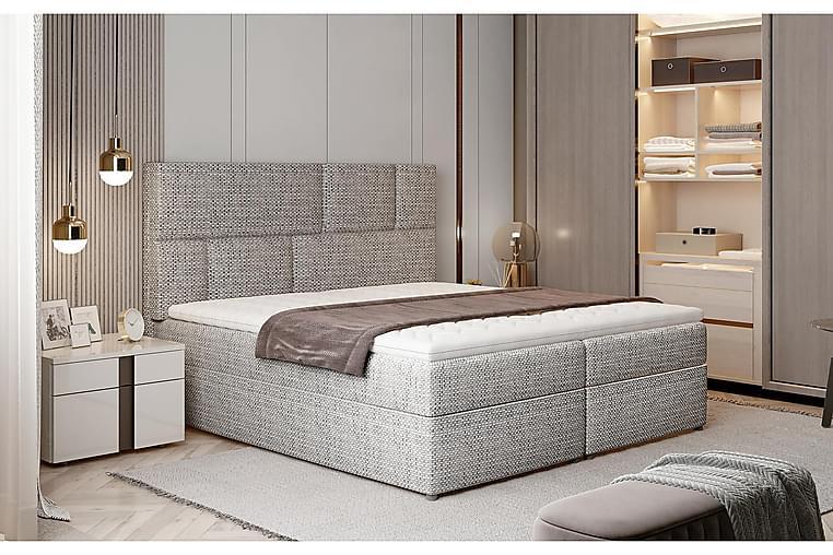 Forenca Sängpaket 180x200 cm - Grå - Möbler - Sängar - Komplett sängpaket
