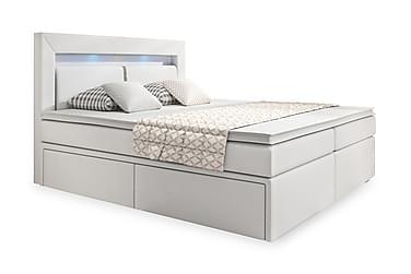 Modena Sängpaket 180x200 med Förvaring LED-belysning