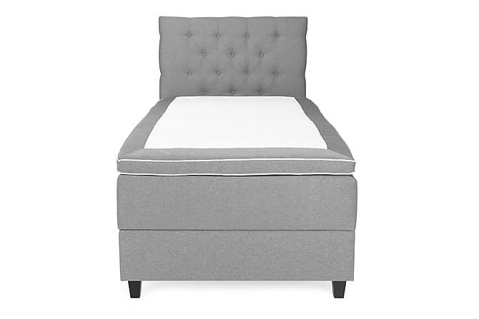 Royal Sängpaket Säng med Förvaring 105x200 - Ljusgrå - Möbler - Sängar - Komplett sängpaket
