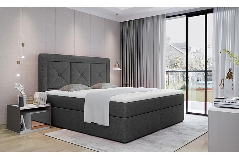 Sidria Sängpaket 140x200 cm - Grå - Möbler - Sängar - Komplett sängpaket