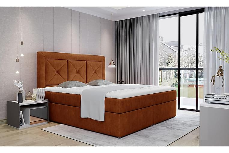 Sidria Sängpaket 160x200 cm - Röd - Möbler - Sängar - Komplett sängpaket