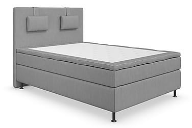 Superior Lyx Komplett Sängpaket 140 cm Ljusgrå