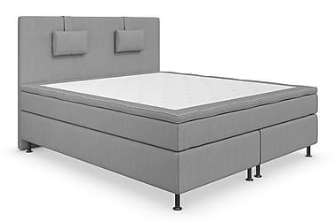 Superior Lyx Komplett Sängpaket 160 cm Ljusgrå