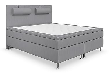 Superior Lyx Komplett Sängpaket 180 cm Ljusgrå