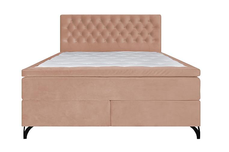 Swanströms Komplett Sängpaket Fast Sammet 180x200cm