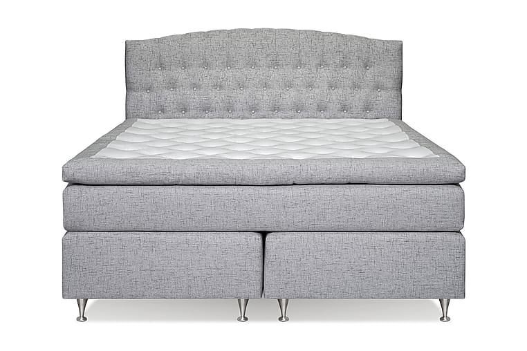Belda Kontinentalsäng 180x200 Fast - Ljusgrå - Möbler - Sängar - Kontinentalsängar