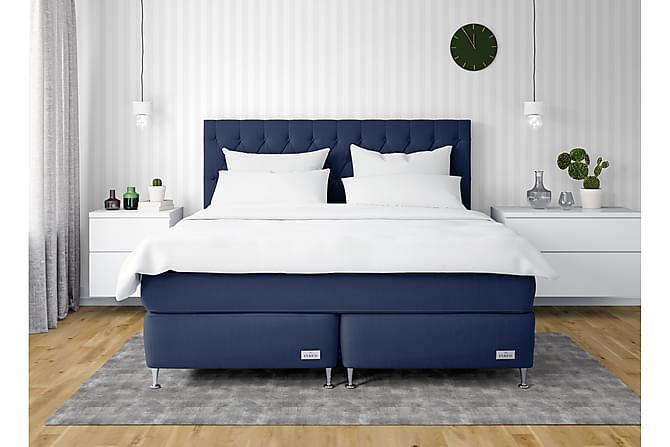 InBed Classic Oxford Sängpaket 160x210 Medium - Marinblå - Möbler - Sängar - Kontinentalsängar