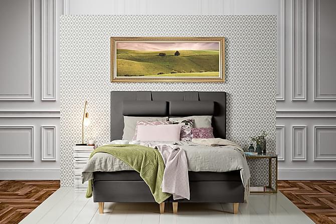 James Kontinentalsäng 180x200 - Ljusgrå - Möbler - Sängar - Kontinentalsängar