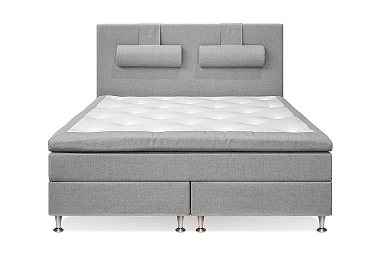 Meja Kontinentalsäng 160x200 cm - Ljusgrå - Möbler - Sängar - Kontinentalsängar
