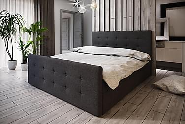 Roma Sängpaket 160x200 Knappad Gavel