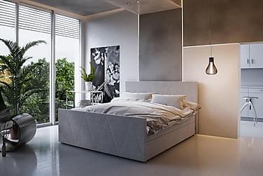 Roma Sängpaket 160x200 Mönstrad Gavel
