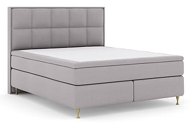 Select No 4 Komplett Sängpaket 210x210 Fast