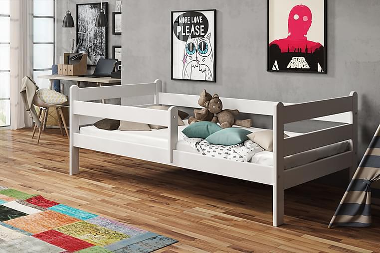 Lupin Sängram 80x140 - Vit - Möbler - Sängar - Ramsäng & resårbotten