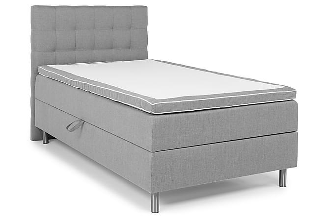 Montana Komplett Sängpaket 120x200 - Ljusgrå - Möbler - Sängar - Enkelsängar