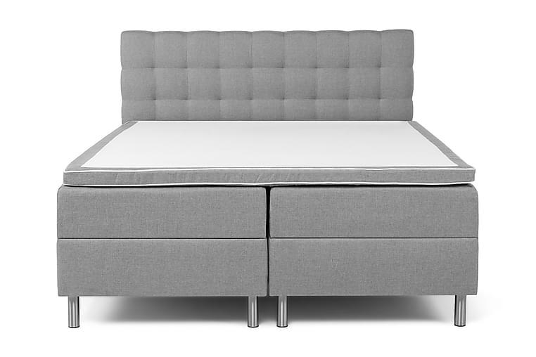 Montana Komplett Sängpaket 160x200 - Ljusgrå - Möbler - Sängar - Sängar med förvaring