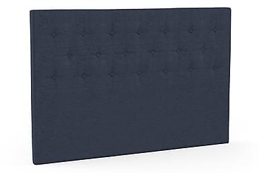Sänggavel Knappad 180x125 Navy