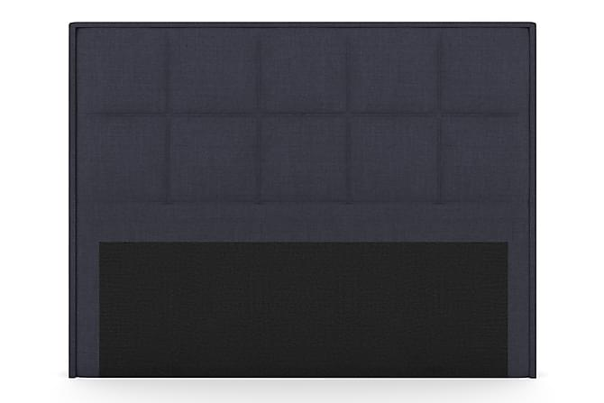 Select Rutig Sänggavel 210 cm - Blå - Möbler - Sängar - Sänggavel