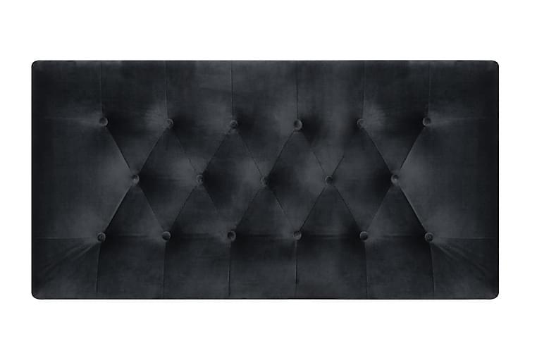 Wall Sänggavel 121x61 cm - Mörkgrå - Möbler - Sängar - Sänggavel