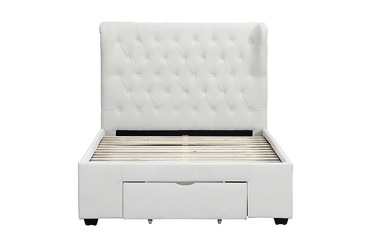 Harley Sängram 120cm - Beige/Sammet - Möbler - Sängar - Sängram & sängstomme