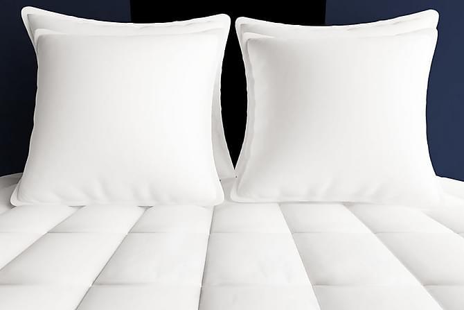 Vinterduntäcke 2 st 140x200 cm - Vit - Möbler - Sängar - Sängtillbehör