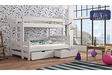 Eira Våningssäng 120x200 med Förvaring