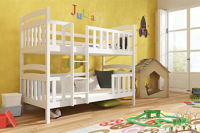 Moses Våningssäng 80x180 - Vit - Möbler - Sängar - Våningssängar