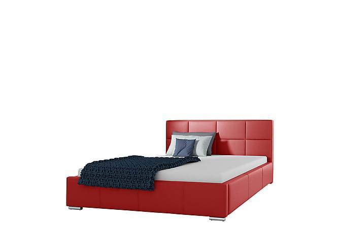 Sirdal Säng 140x200 - Röd - Möbler - Sängar