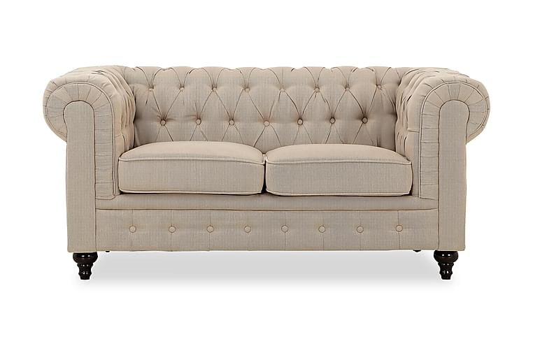 Chesterfield Lyx Soffa 2-sits