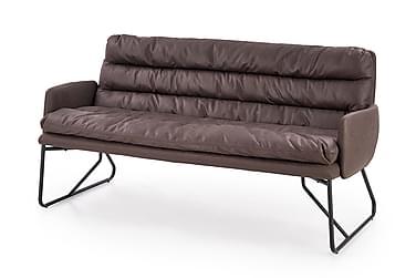 Fassi 3-sits Soffa Ecoläder