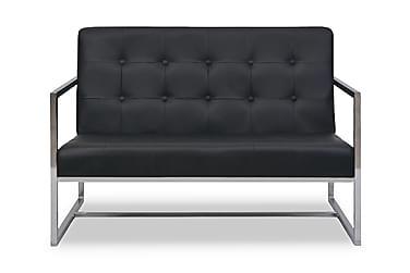Forch 2-sits Soffa Konstläder