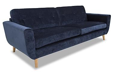Harald 3-sits - grand - fler färger-Eros Blue
