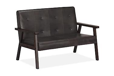 Sasso 2-sits Soffa Läder