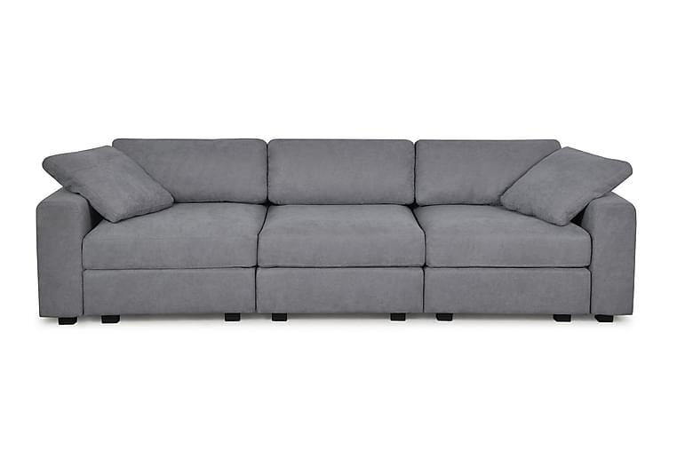 Siggetorp 3-sits soffa - Grå - Möbler - Soffor - 2-4-sits soffor