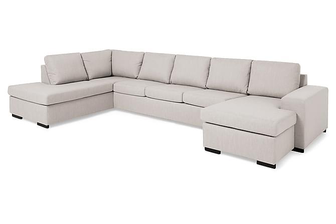 Boss U-soffa Large med Divan Höger - Beige - Möbler - Soffor - Divansoffor & U-soffor