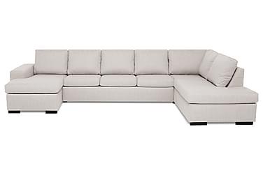 Boss U-soffa Large med Divan Vänster