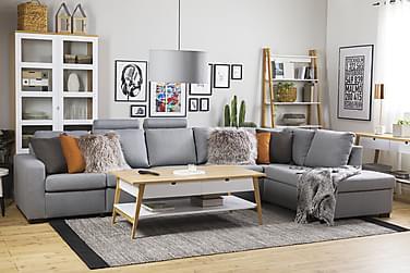 Crazy 4-sits Soffa med Schäslong Höger