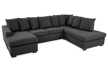 Crazy U-soffa Large Höger inkl Kuvertkuddar