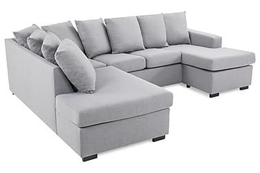 Crazy U-soffa Small Divan Höger inkl Kuvertkuddar