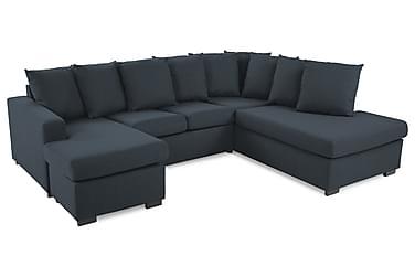 Crazy U-soffa Small Divan Vänster inkl Kuvertkuddar